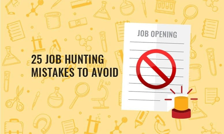 image-of-CV-marked-rejected-in-red-to-suggest-25-job-hunting-mistakes-to-avoid