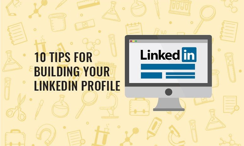 image-of-computer-screen-with-linkedin-logo-suggesting-10-tips-for-building-your-linkedin-profile