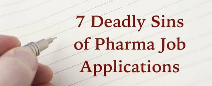 Pharma Job Applications