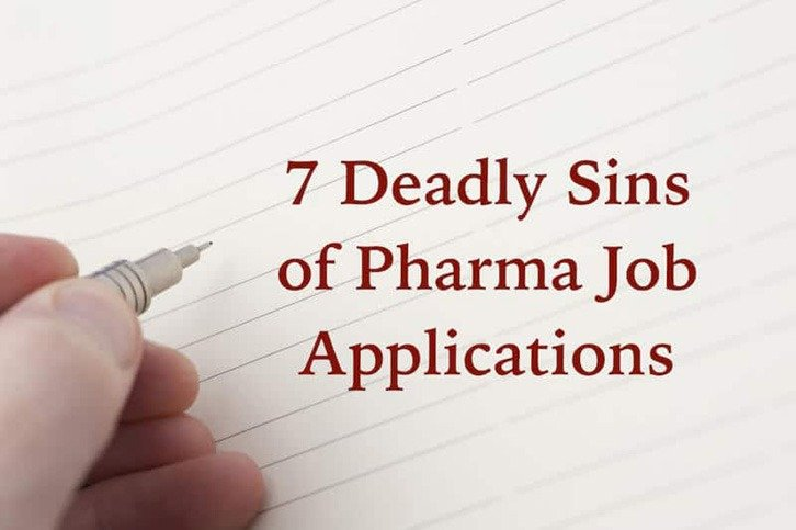 Pharma Job Applications