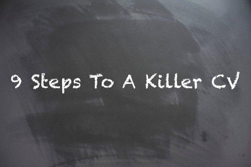 9 steps to a killer cv