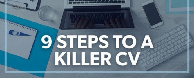 steps to a killer cv