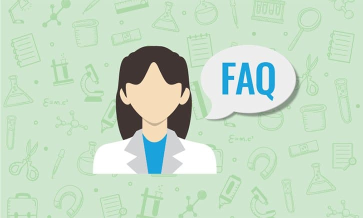 image-showing-woman-with-faq-in-speech-bubble