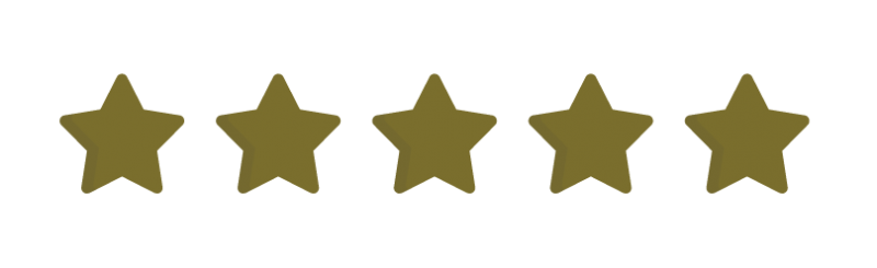 image of 5 gold stars