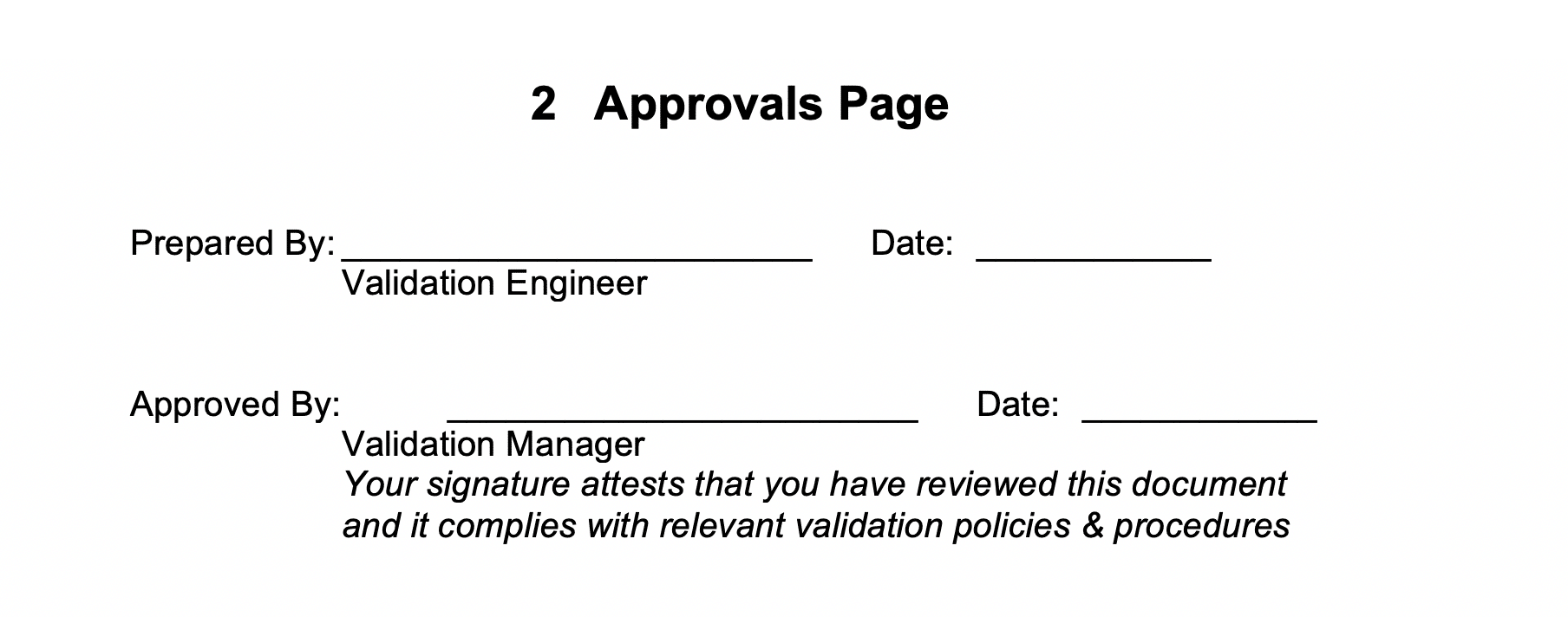 Approvals Page GetReskilled