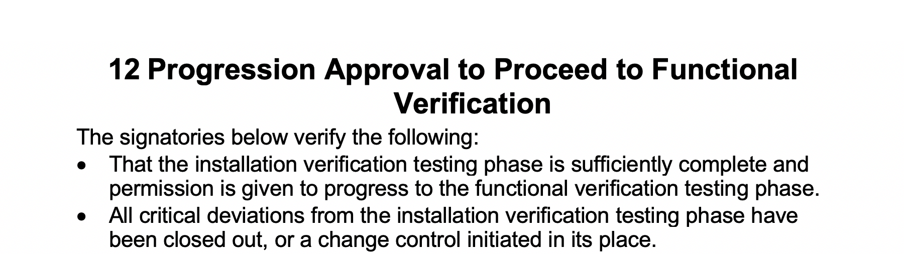 Progression Approval to Proceed to Functional Verification GetReskilled