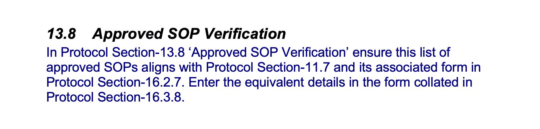 Approved SOP Verification GetReskilled