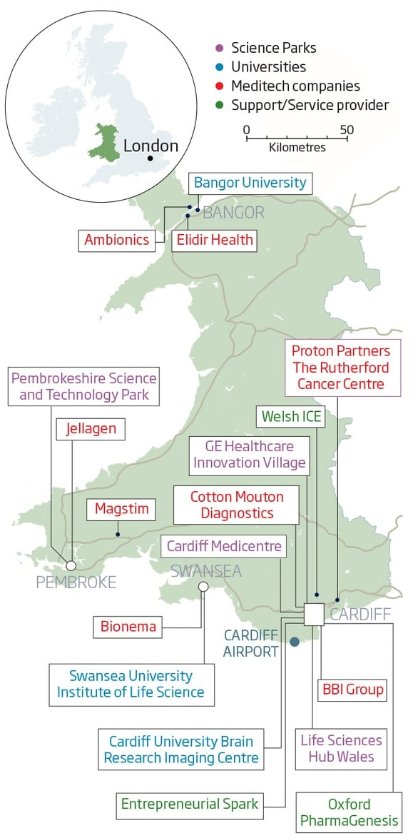 map-showing-major-life-science-clusters-throughout-wales